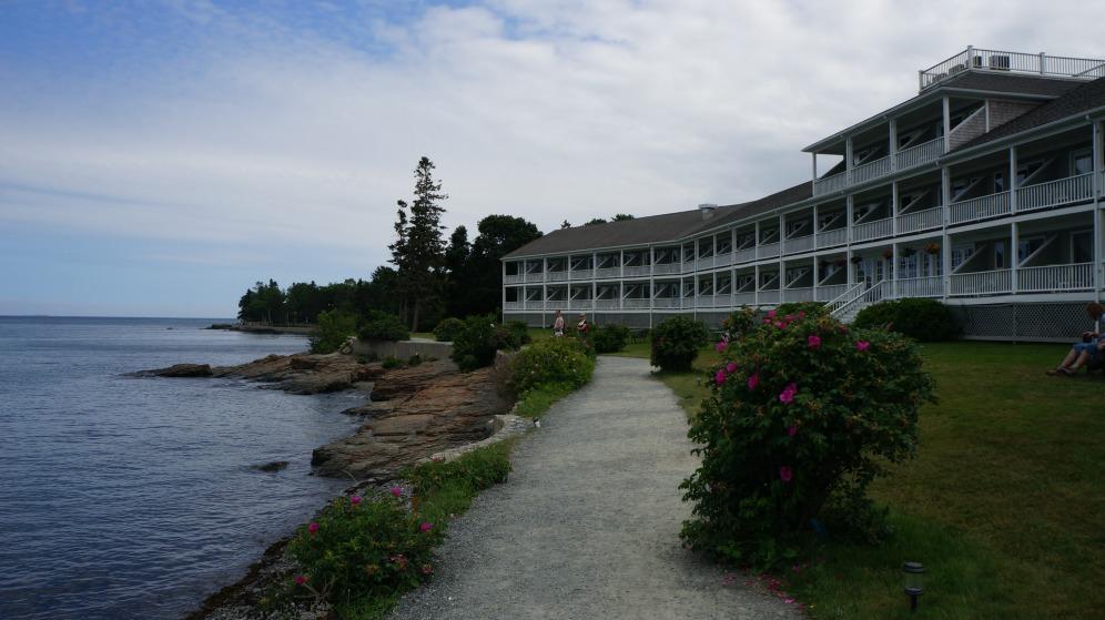 A hotel in Bar Harbor